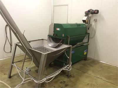 FOR SALE : Enorossi Olive Oil Processor  600-1000 kg per hr.