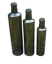 CADE Round Bottles - Various Sizes, Antique Green