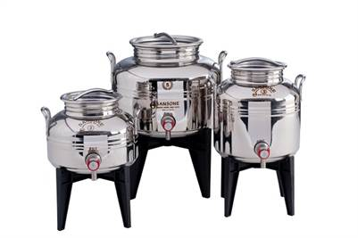 Stainless Steel Olive Oil Containers