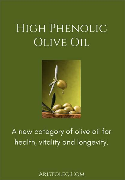 High Phenolic Olive Oil