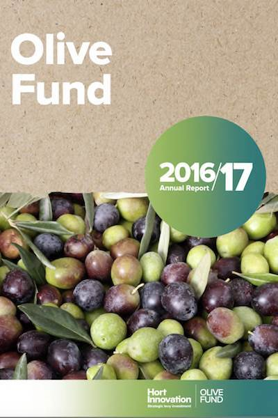 Australian Olive Fund Annual Report 2016-17
