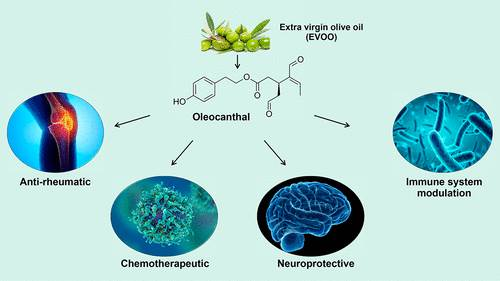 Natural Molecules for Healthy Lifestyles: Oleocanthal from Extra Virgin Olive Oil