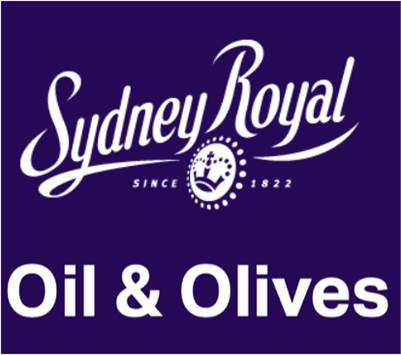 Sydney Royal Fine Food Show -  2019 Olive Oil Competition