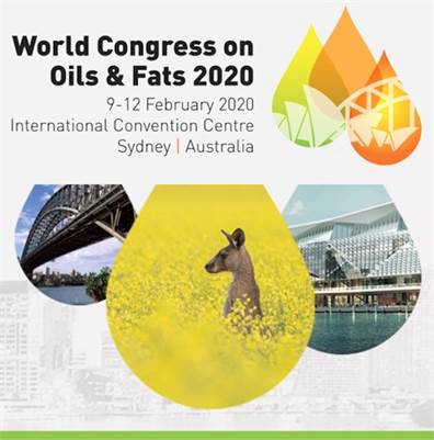 World Congress on Oils and Fats 2020