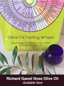 Olive Oil Tasting Wheel