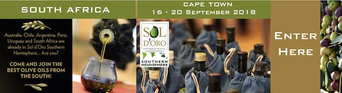 Sol D'Oro International EVOO Southern Hemisphere Competition