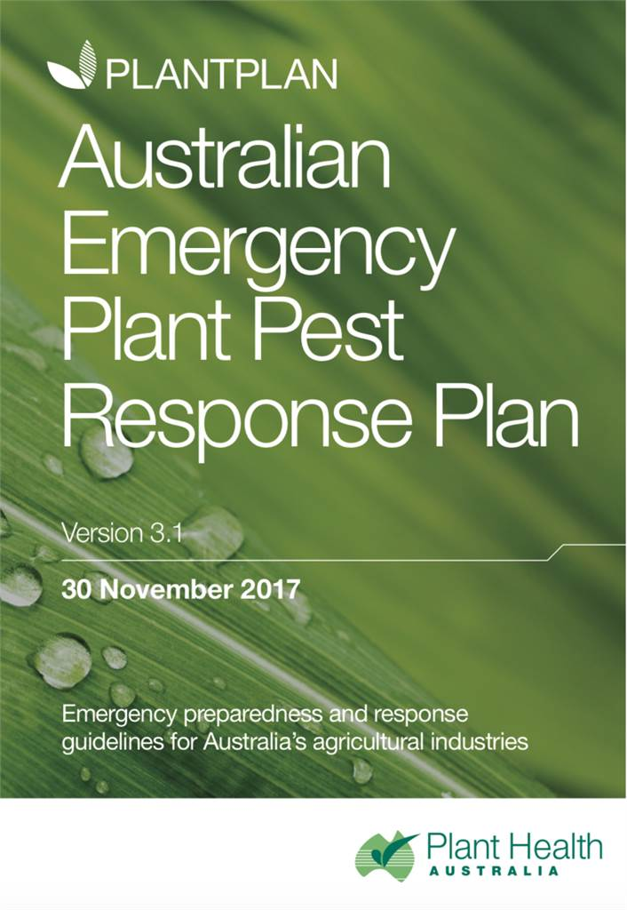 Australian Emergency Plant Pest Response Plan