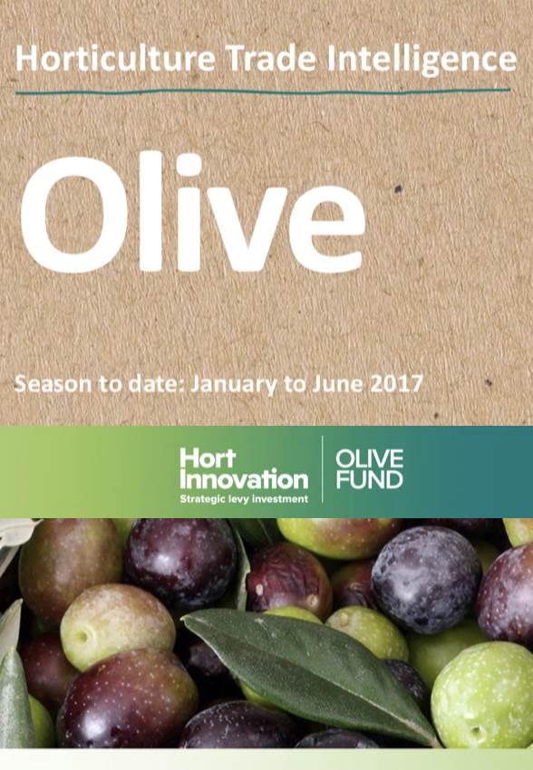 Horticulture Trade Intelligence - Olives