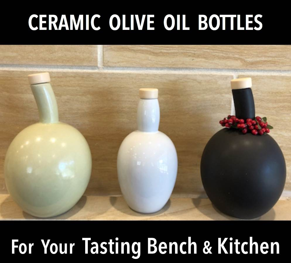 Ceramic EVOO Bottles - Tunisia