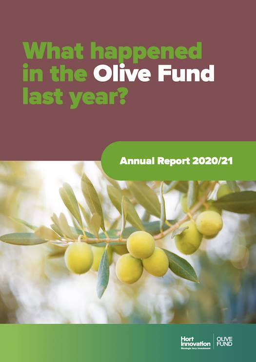 Olive Industry Annual Report 2017-18